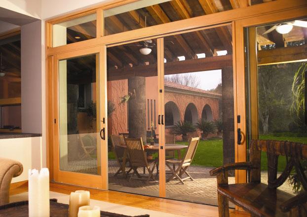 Retractable Solutions Doors Gallery Phantom Screens